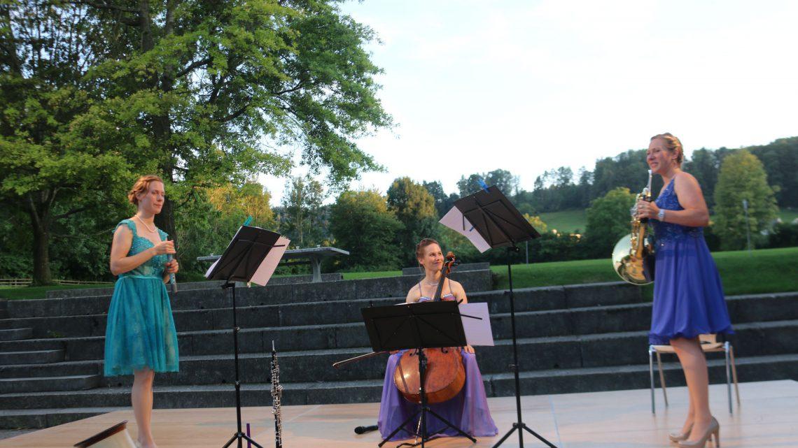 """Abendserenade mit """"Trio Sorelle"""" in Oberuzwil"""
