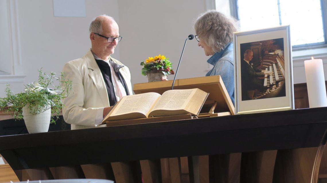 Organist Gerhard Spycher nach 17 Jahren verabschiedet